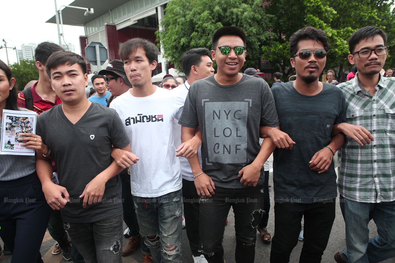 Activists, including Jatupat