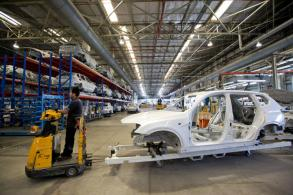 Auto exports at two-year low