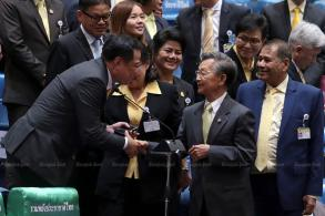 Democrat veteran Chuan named House speaker