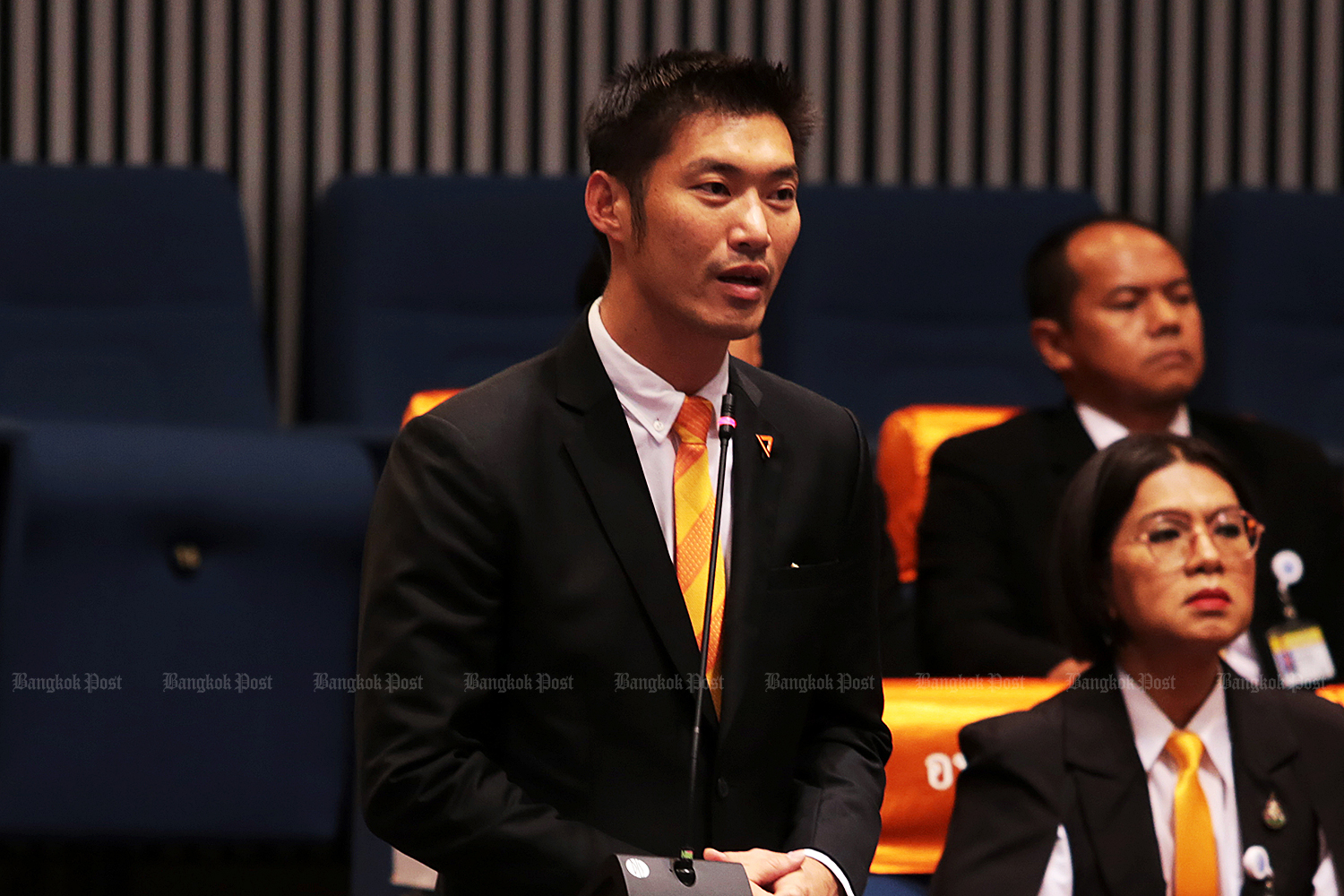 Thanathorn: left to cheers and jeers