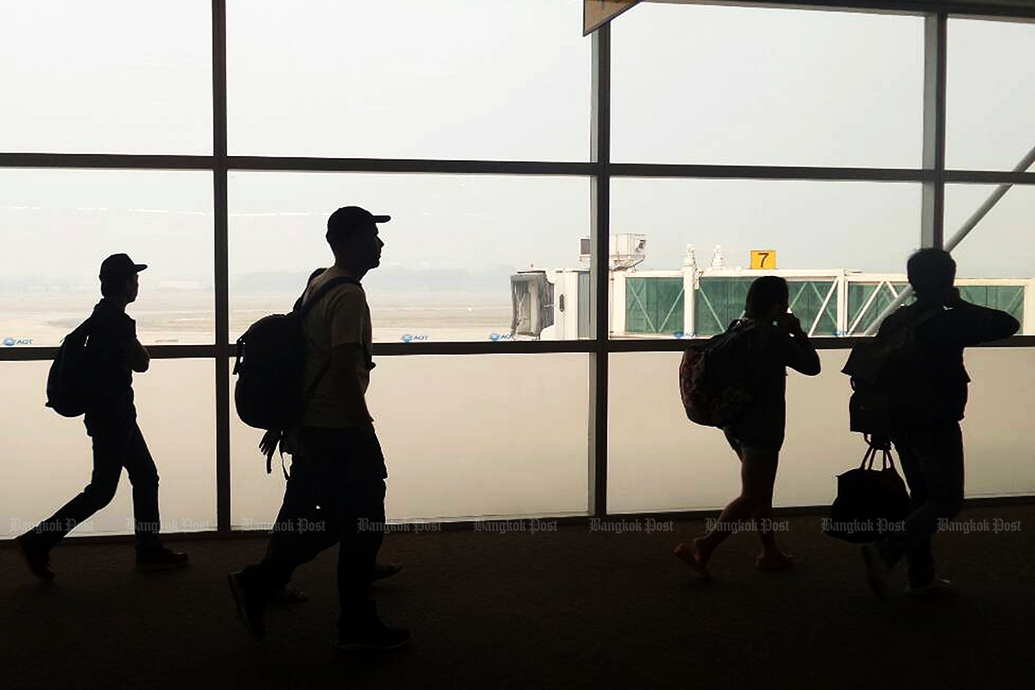 Samtel aims to raise revenue derived from airport digital solutions. (Bangkok Post file photo)