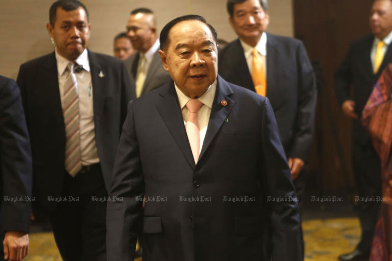 Deputy Minister Prawit Wongsuwon, also the defence minister. (File photo)