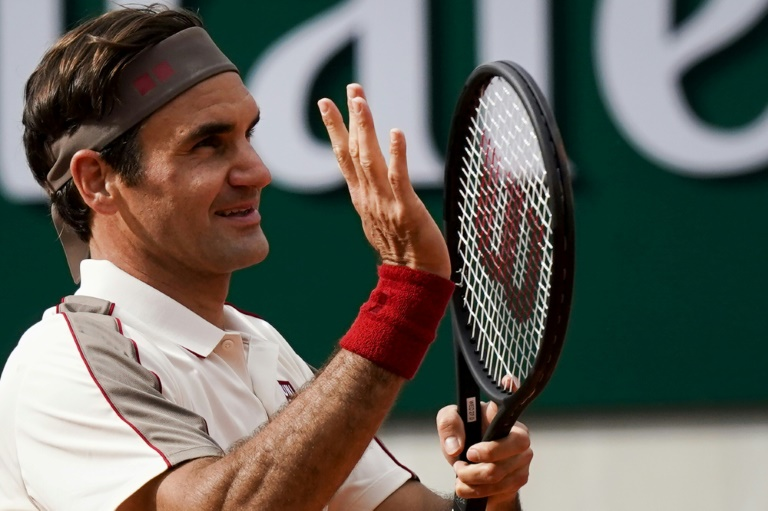 Federer has cruised into the third round on his Roland Garros return