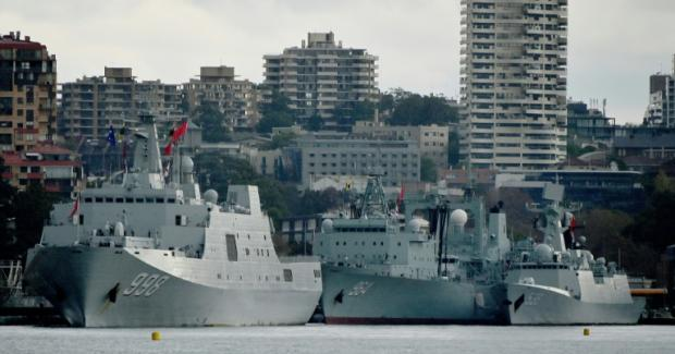 June 2019 - Chinese warships cause surprise in Sydney Harbour