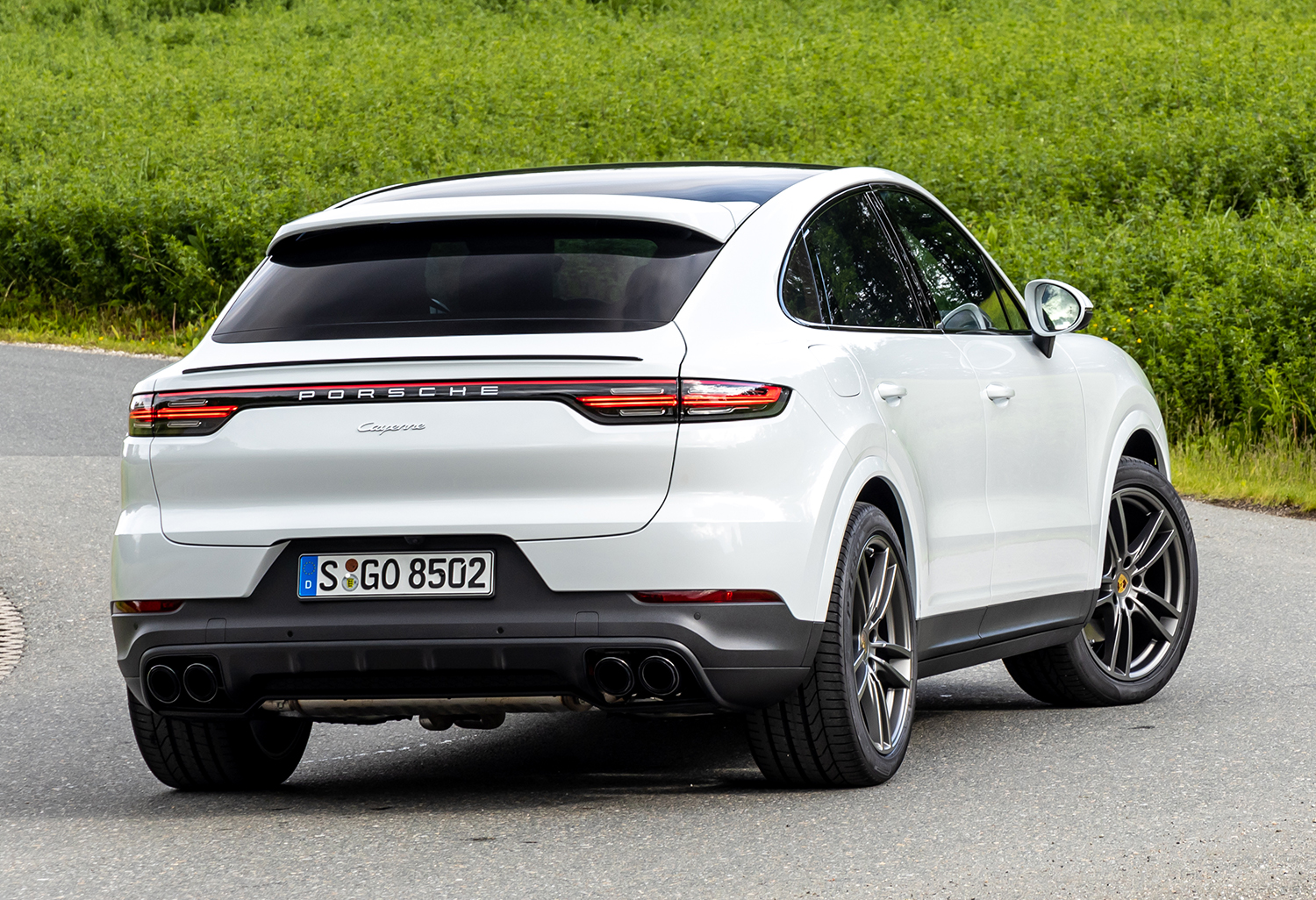 2019 Porsche Cayenne Coupe review