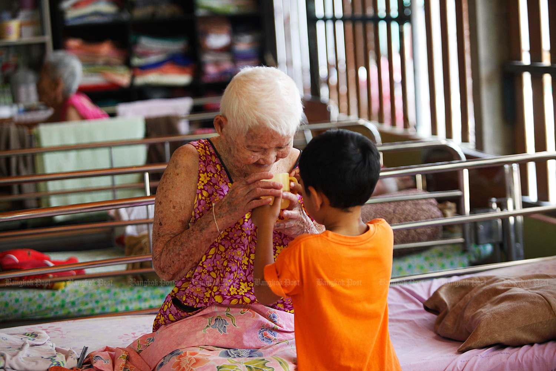 Elderly lady. (Bangkok Post file photo)