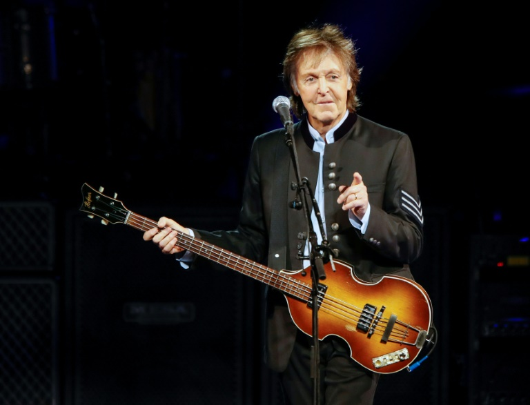 Sir Paul McCartney, seen in 2017, gave a shoutout to Canadian teenager Emma Stevens's cover of