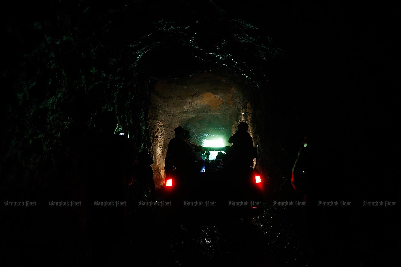 A mine in Thailand. (Bangkok Post file photo)