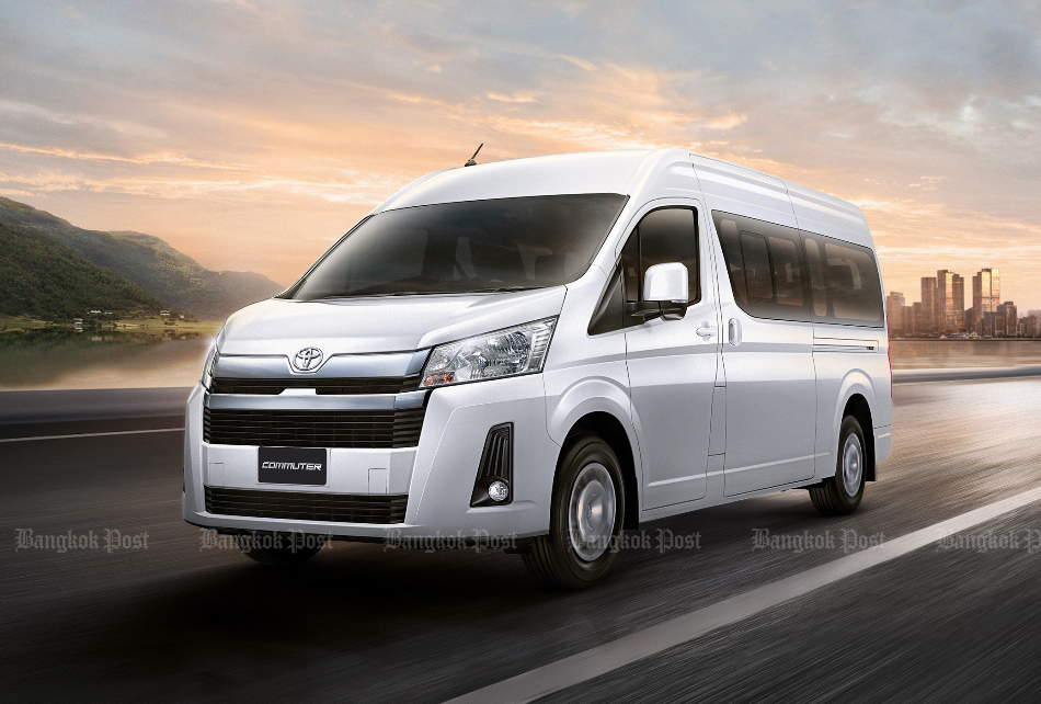 2019 Toyota Commuter and Hiace: Thai prices and specs