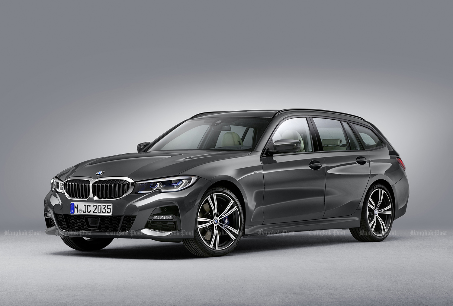 New BMW 3 Series Touring unveiled