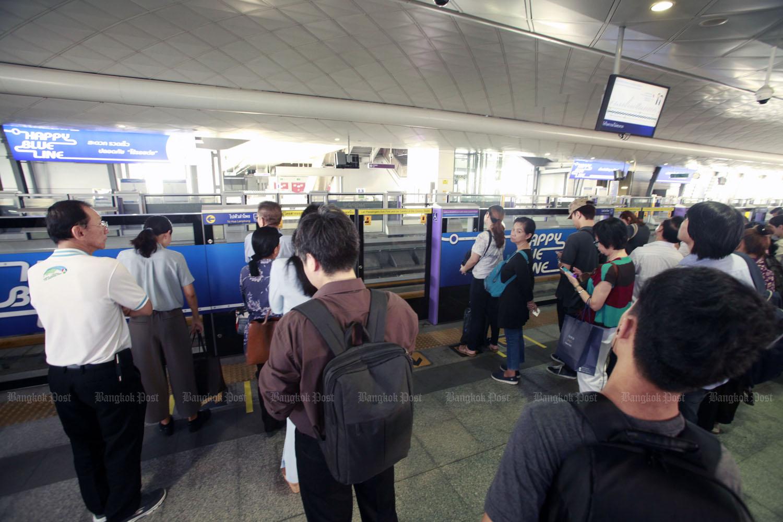 Single-ticket Bangkok public transport pushed back to 2020