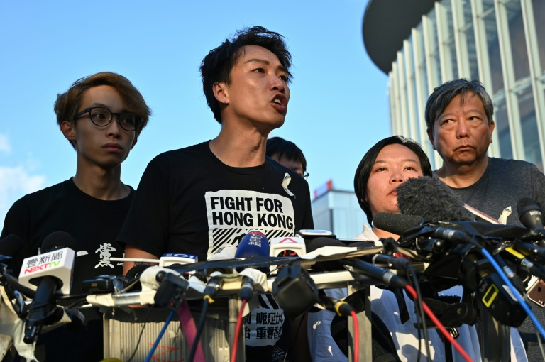 Hong Kong activist Jimmy Sham likened chief executive Carrie Lam's offer to a 'knife' that had been plunged into the city