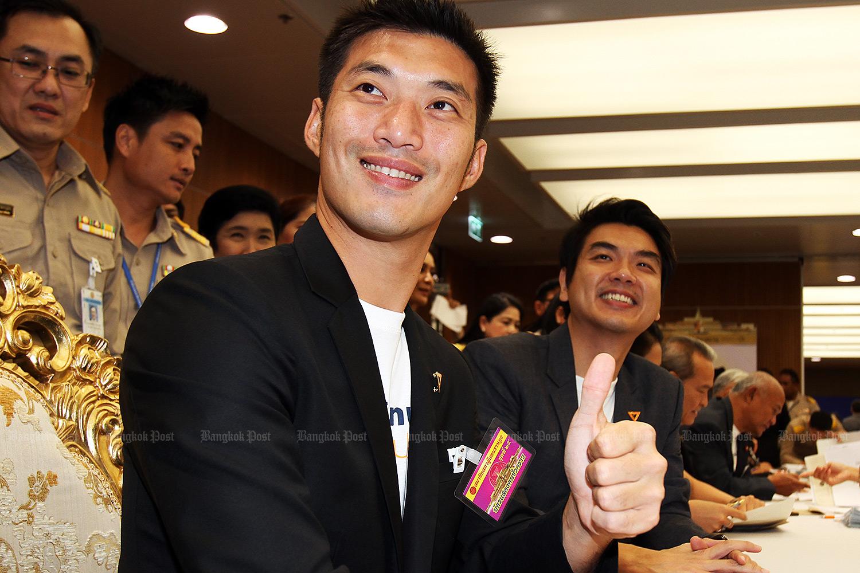 FFP leader Thanathorn Juangroongruangkit. (Bangkok Post file photo)