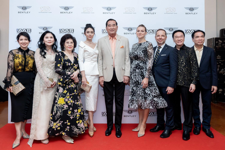 Bentley bangkok celebrated centenary year