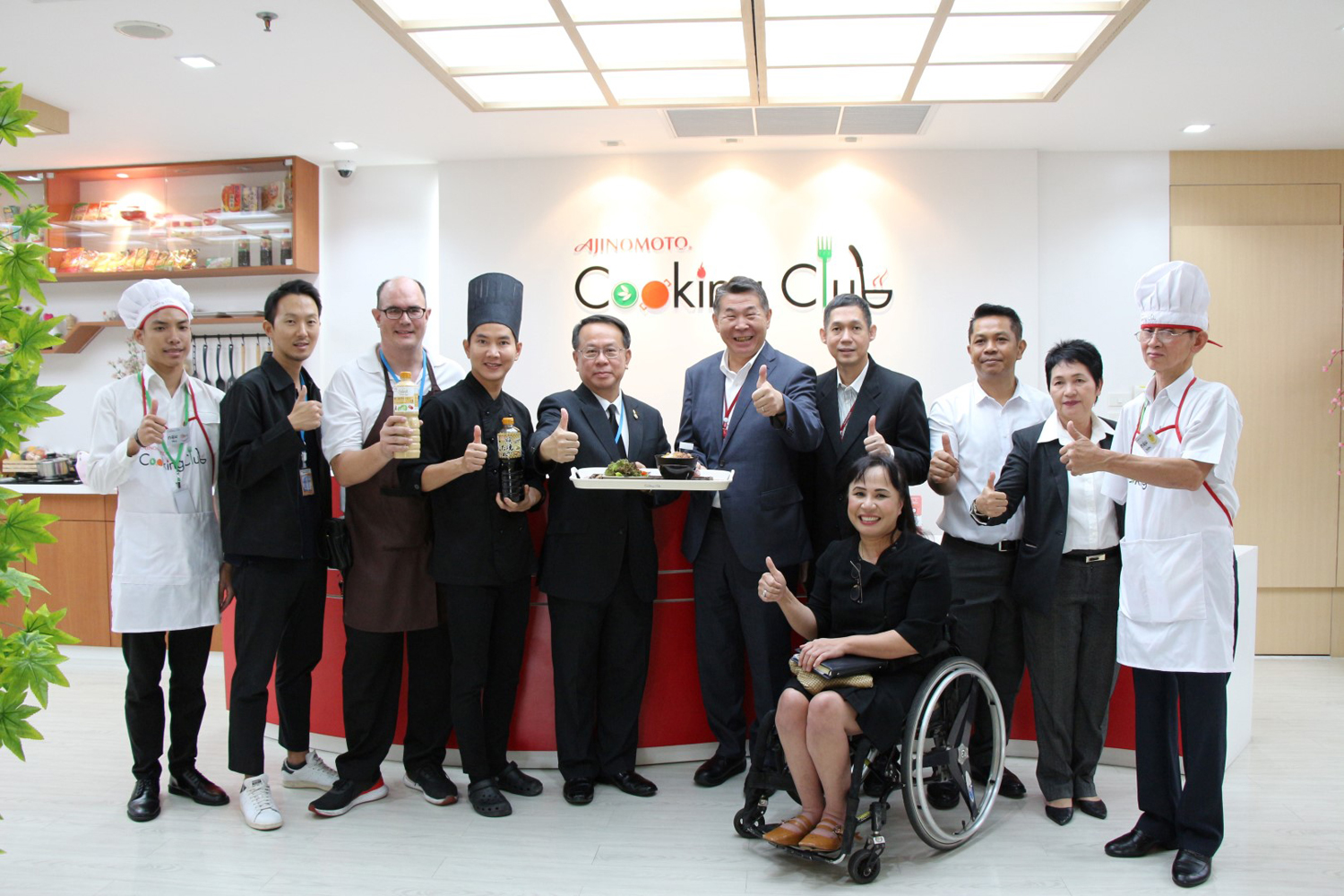 Ajinomoto heightens opportunity for people with disabilities from APCD
