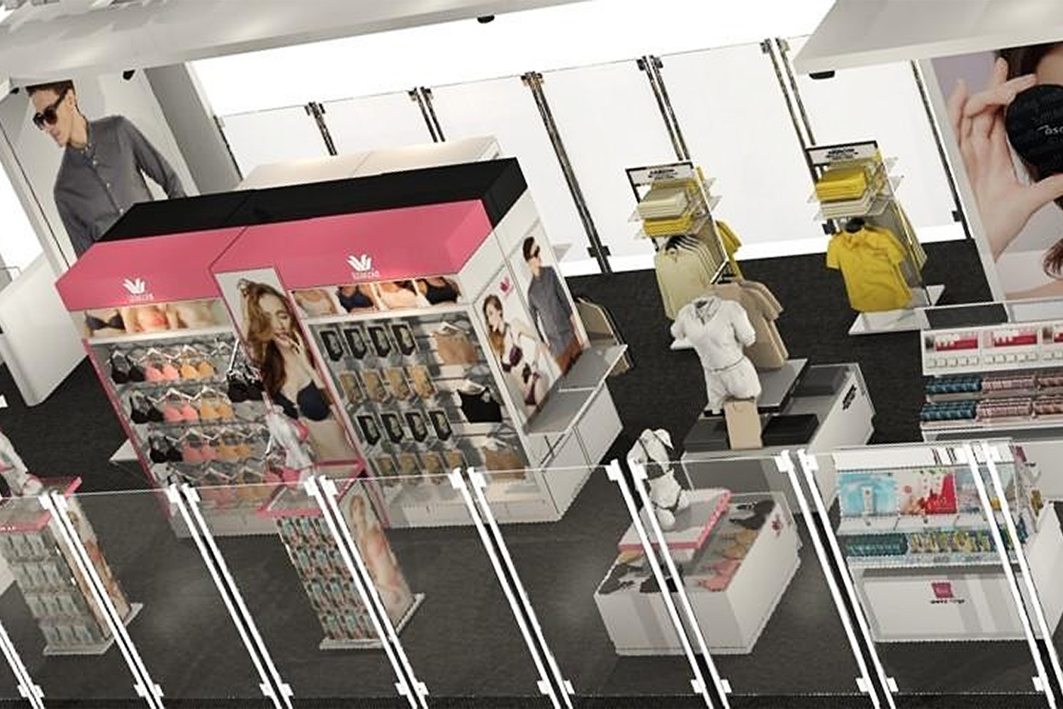 The first experimental unmanned store by ICC International aims to offer consumers freedom in their shopping experience.