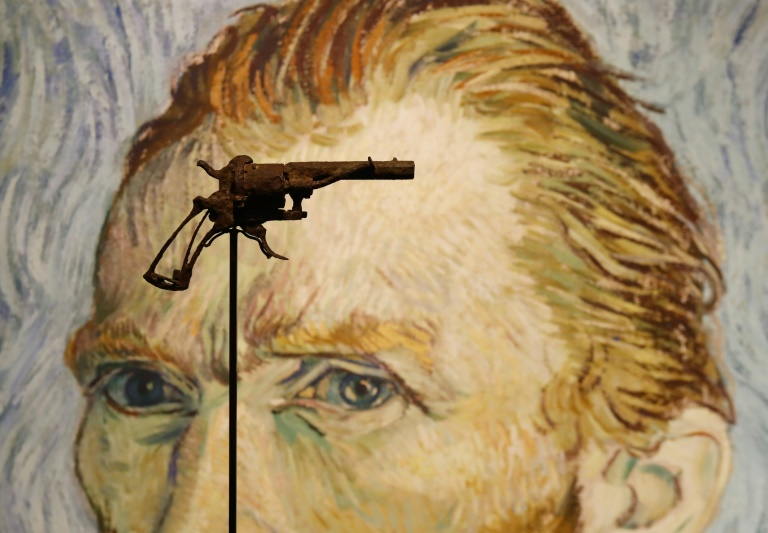 Fatal weapon: The revolver Vincent Van Gogh is believed to have shot himself with was found in a field by a farmer in 1965, 75 years after the painter's death.