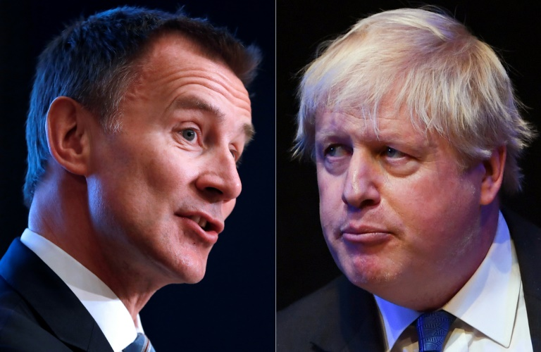 The leadership battle is likely to feature pledges from both Johnson and Hunt to get Britain out of the European Union safely