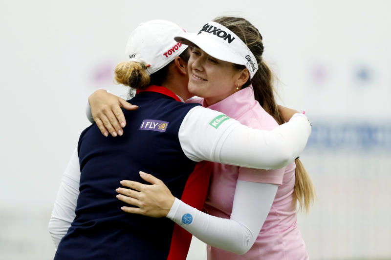 Australia's Green makes first win a major at Women's PGA
