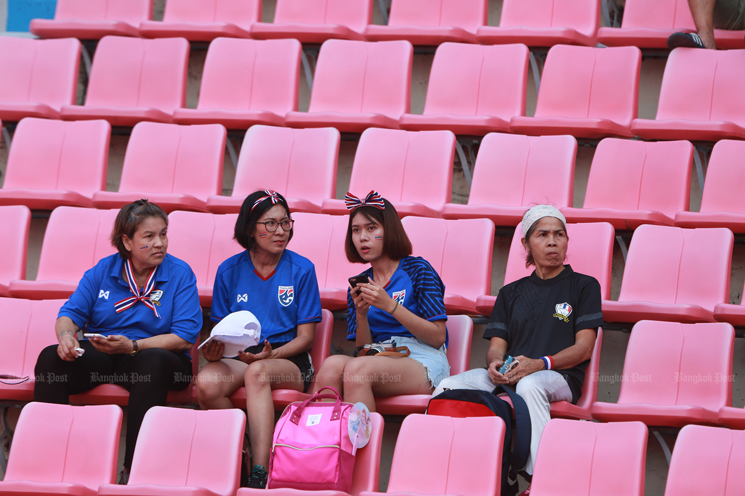 Thai football fans may have to wait longer to see the region host the Fifa World Cup. (Bangkok Post file photo)
