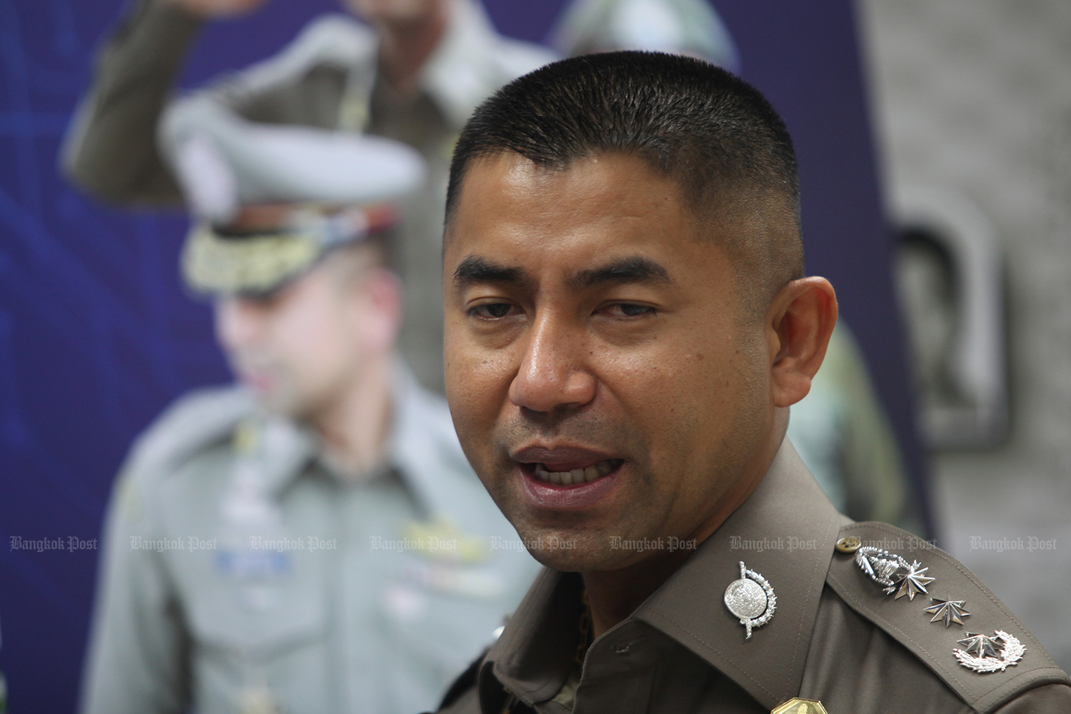 Police chief Pol Gen Chakthip Chaijinday and Deputy Prime Minister Prawit Wongsuwon both reject speculation of the return of Pol Lt Gen Surachate