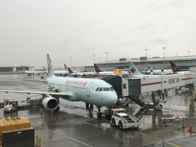 Air Canada flight: Woman falls asleep and wakes on empty plane locked