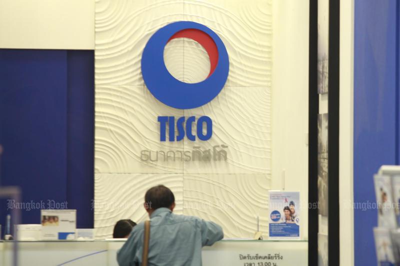Tisco bank will shun risky lending as the economy slows. (Bangkok Post photo)