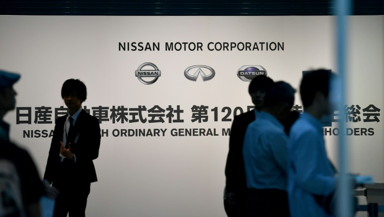 Nissan shareholders are holding an annual meeting to vote on governance reforms after the Carlos Ghosn scandal