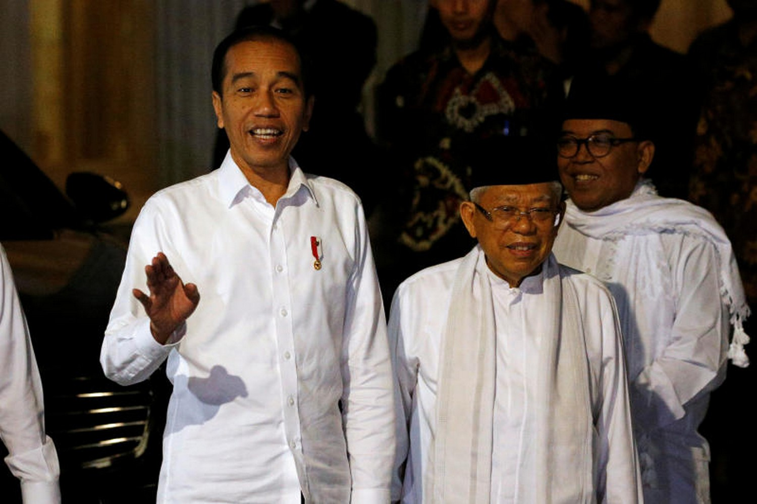 President Joko Widodo, left, who recently won a second term in office, said earlier Maknun could seek clemency from him if she did not find justice through a judicial review.