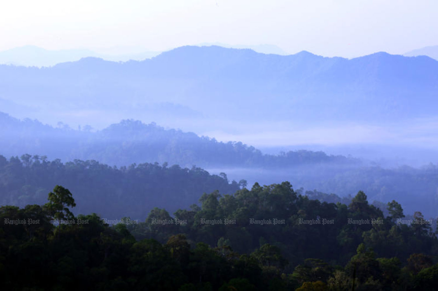 The Kaeng Krachan National Park in Phetchaburi province is part of the Kaeng Krachan Forest Complex that Thailand proposed for World Heritage listing. (File photo)