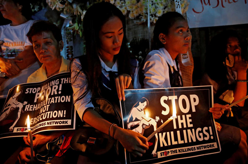 Amnesty urges UN probe of 'systematic' drug war killings
