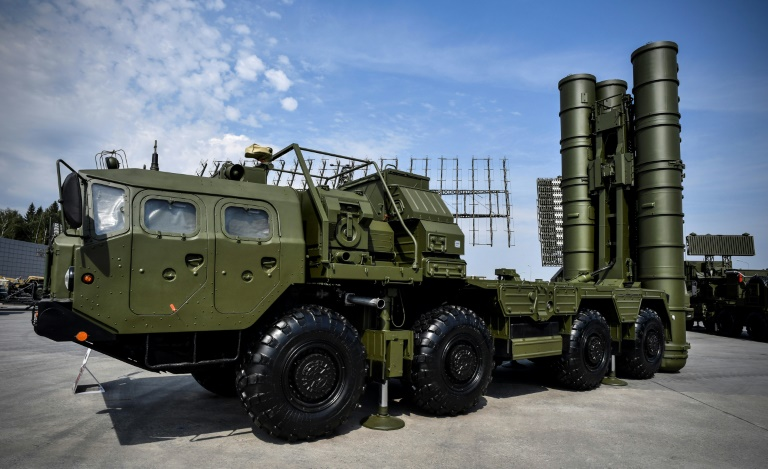 A launch vehicle for the Russian S-400 missile defence system. Washington has repeatedly warned Turkey against purchasing it.