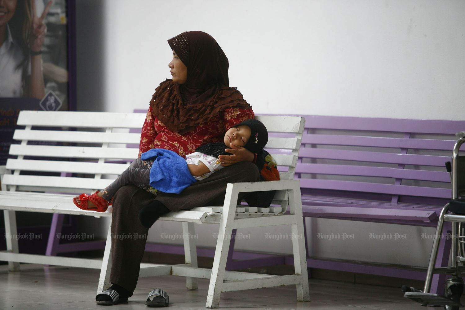 The WHO recommends babies be exclusively breastfed for the first six months of their lives. (Bangkok Post file photo)