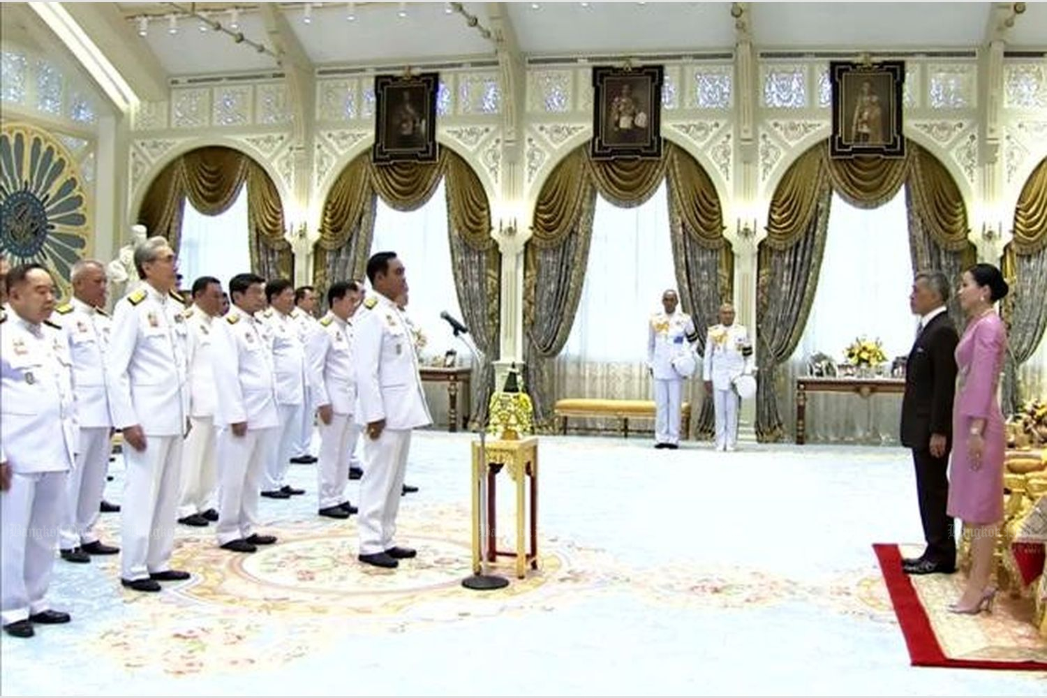Thailand's elected cabinet sworn in after 5 years of military rule