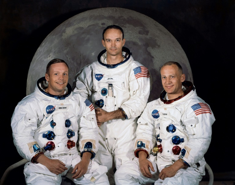 Neil Armstrong Michael Collins and Buzz Aldrin