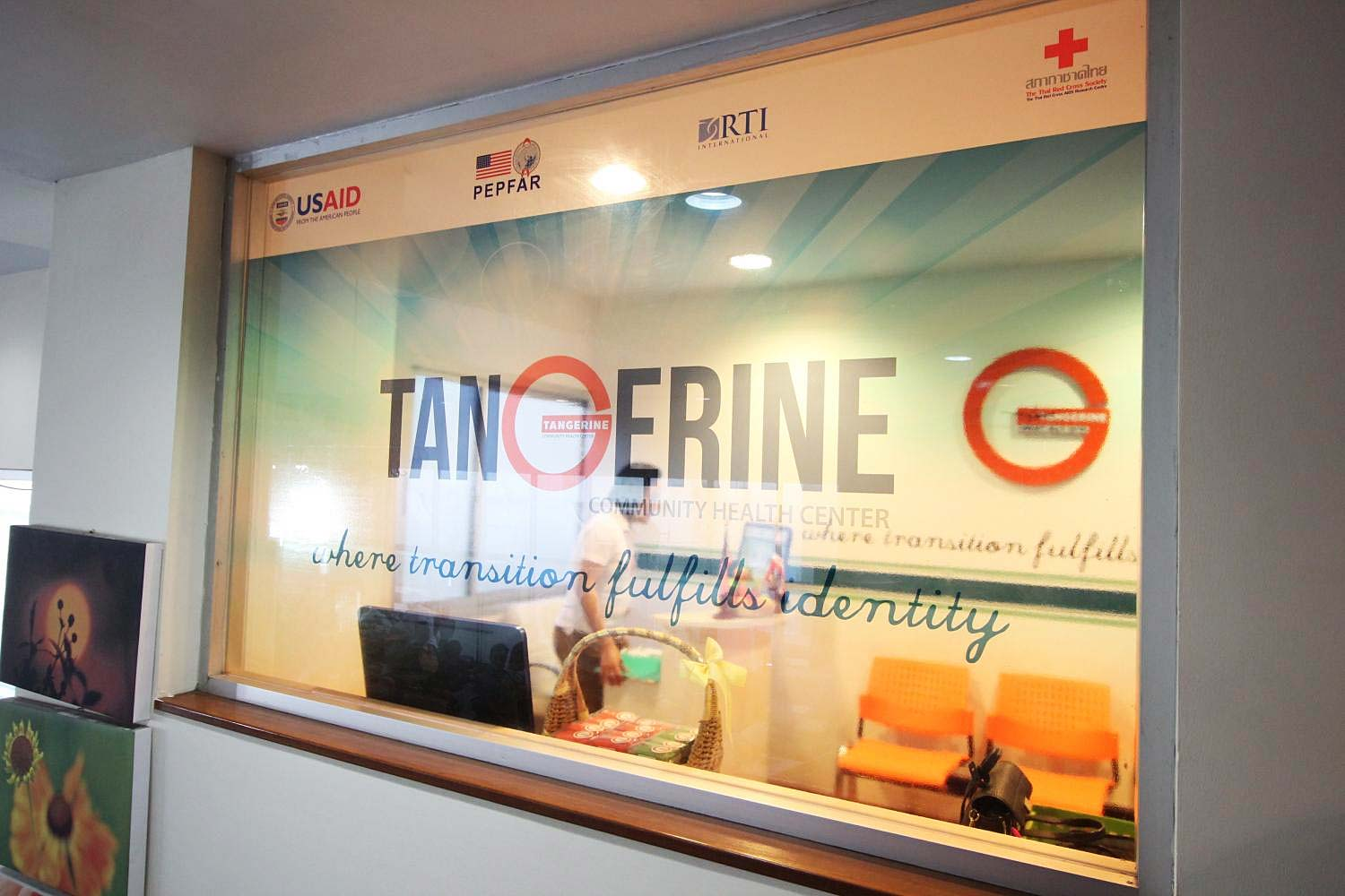 The Tangerine Community Health Centre, Thailand's first clinic to provide trans-specific healthcare and counselling services, now operates at the Thai Red Cross Aids Research Centre. (Photo by Melanin Mahavongtrakul)