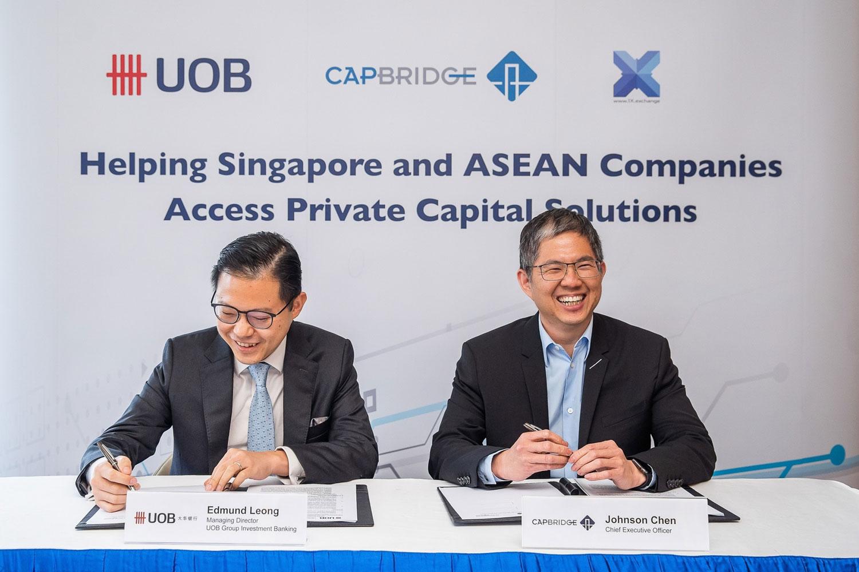 CapBridge and UOB sign agreement to provide companies across Asia