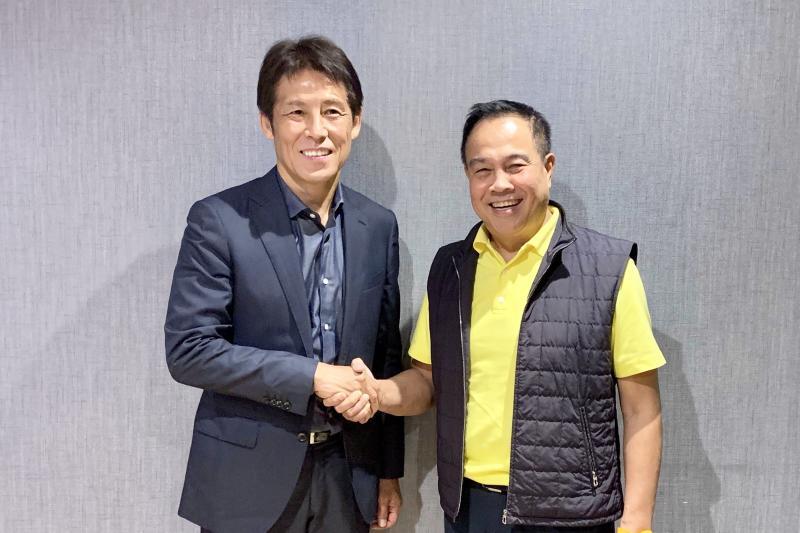 Nishino officially named Thailand head football coach