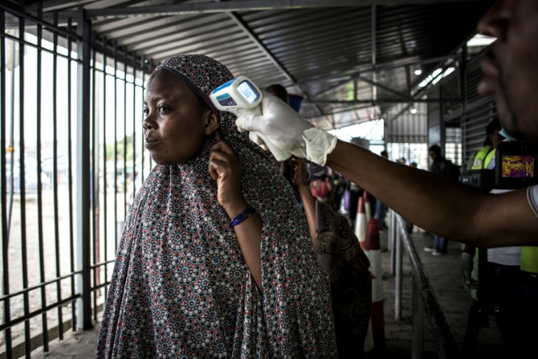 Officials have set up screening stations in Goma, which has a border crossing into Rwanda.