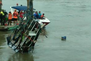 Second body found in collapsed riverbank food market