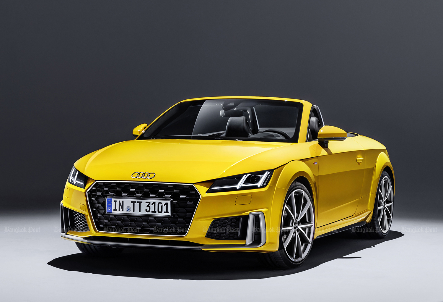2019 Audi TT Roadster: Thai pricing and specs