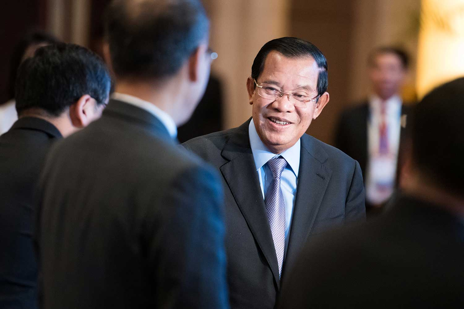 China doesn't explicitly deny Cambodia base report