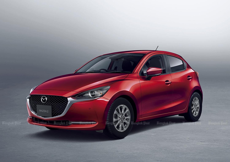 Mazda 2 facelift revealed in Japan