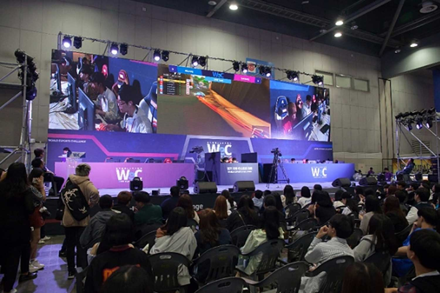 World eSports Challenge, an international e-sports event for amateurs, was held in Gyeonggi province in May. (Photo by Gyeonggi province via Pulse)
