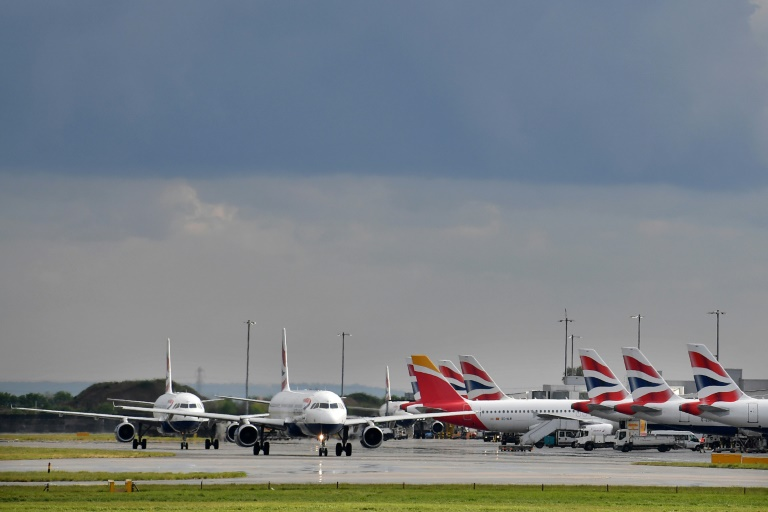 British Airways suspended flights to Cairo on Saturday, without giving a reason.