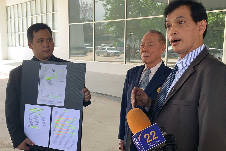 Businessman fights back against 29 officials