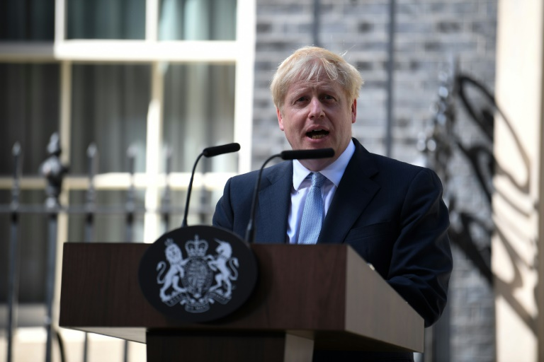 Johnson vowed to deliver Brexit, 'no ifs, no buts'