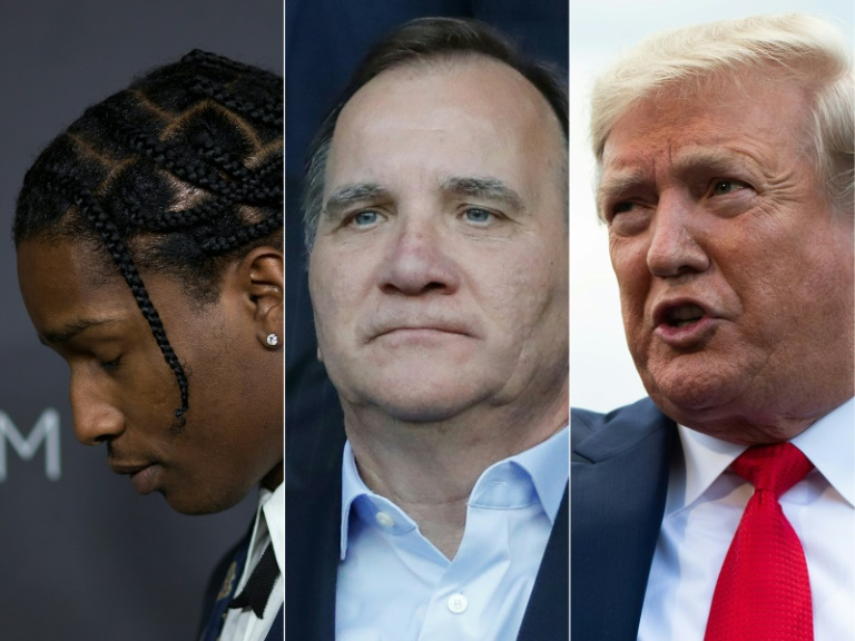 Trump lashes out at Sweden after rapper A$AP Rocky charged