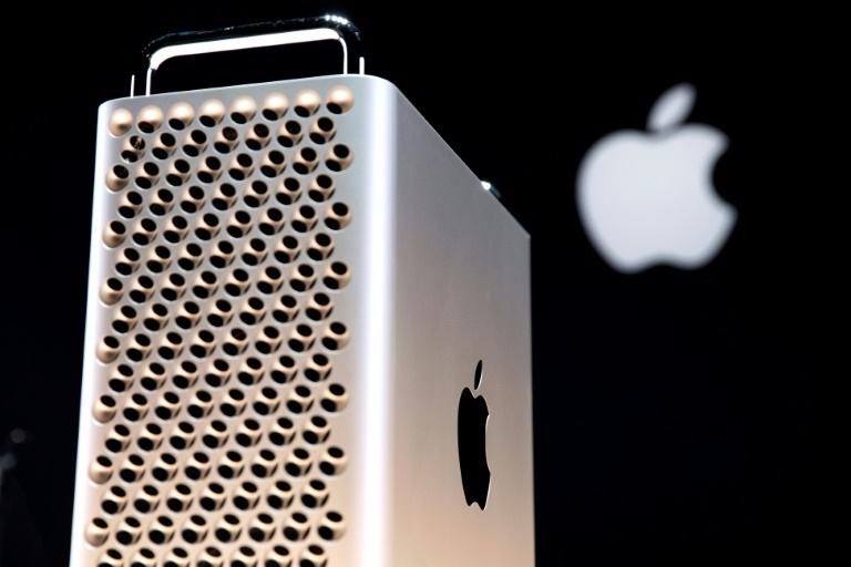 President Donald Trump said Apple would face tariffs for components on Mac Pro computers expected to be produced in China.