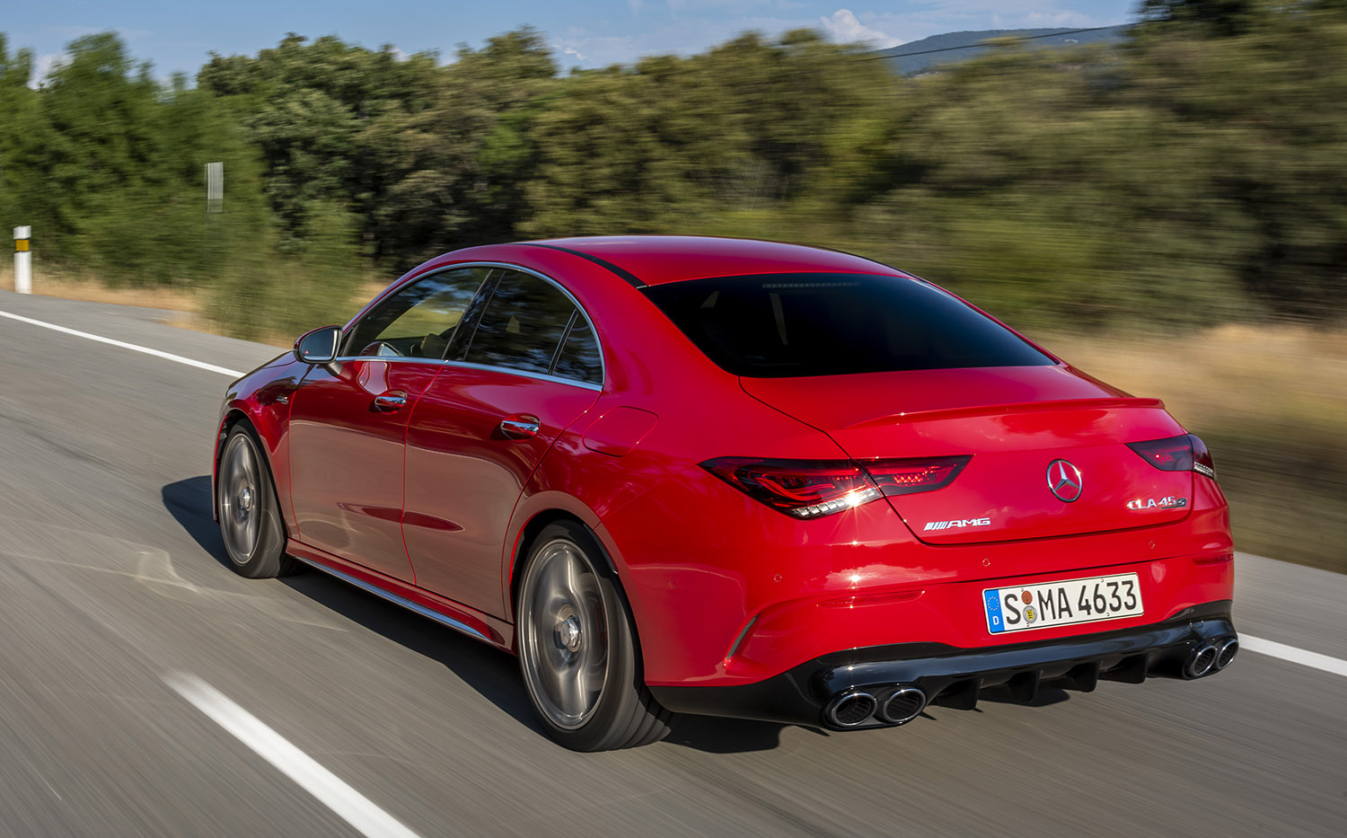 Mercedes Cla 45 Amg For Sale >> 2019 Mercedes Amg A45 S And Cla45 S First Drive Review